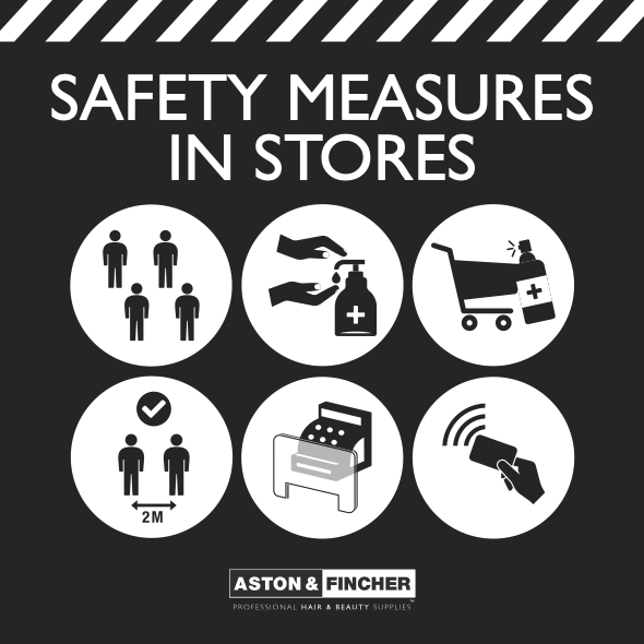 Safety in Aston & Fincher stores