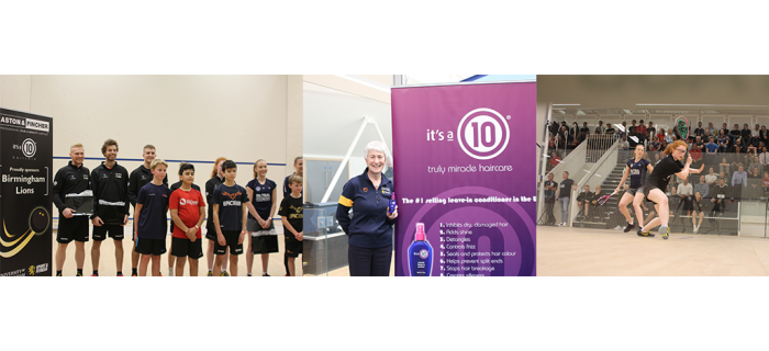 Aston & Fincher proudly supports University of Birmingham Squash Club