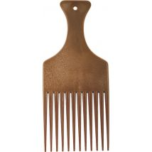 Comby Afro Comb Wood Effect