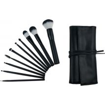 Deluxe Professional Cosmetic Brush Roll