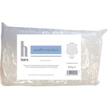 Hara Paraffin Wax Block, Fragrance Free 500g