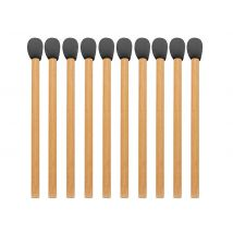 Eco-Friendly Disposable Bamboo Sponge Applicators (25)