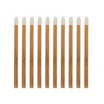 Eco-Friendly Disposable Bamboo Lip Gloss Applicators (25)