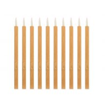 Eco-Friendly Disposable Bamboo Eyeliner Brushes (25)