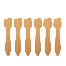 Eco-Friendly Disposable Bamboo Spatulas (25)