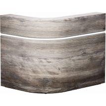 REM Saturn Reception Desk 1220 x 920mm, Pasadena Pine