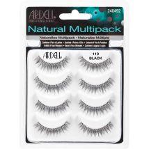 Ardell Natural Strip Lash Multipack, 110 Black