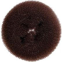 Hair Tools Bun Ring, Dark Brown 7cm