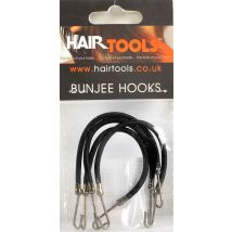 Hair Tools Bunjee Hooks, Black