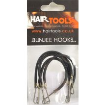 Hair Tools Bunjee Hooks, Brown
