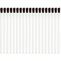 A+F Pro Disposable Lip Brushes, White (25)