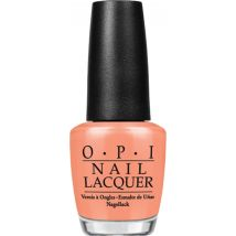 OPI Nail Lacquer, I'm Getting A Tan-Gerine 15ml