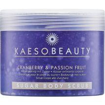 Kaeso Sugar Body Scrub, Cranberry & Passion Fruit 450ml