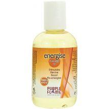 Purple Flame Massage Oil, Energise 100ml