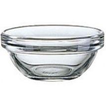 Glass Palm Blending Mixing Bowl