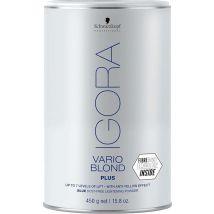 Schwarzkopf Igora Vario Blond Plus Powder Lightener, Blue 450g