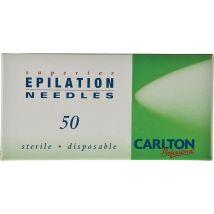 Carlton Professional Electrolysis Needles K Shank, K4 (50)
