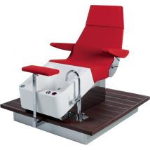 Gamma Spa Logic Streamline Pedi Spa Chair with Shiatsu massage.