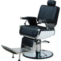 Mr Aston Shelby Barber Chair, Black