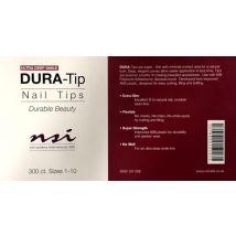 NSI Dura Tips Ultra Deep, Size 1-10 (300)