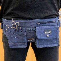 Glamtech Stylist Tool Belt, Black