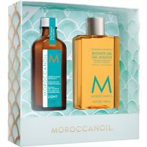 Moroccanoil Treatment Light & Shower Gel Duo