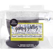 Colortrak Galaxy Glitter Bowls (2)