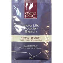 Avec Pro Ultra Lift Powder Bleach Sachet, White 30g