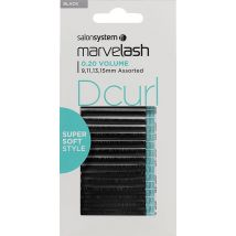 Salon System Marvelash Super Soft Lashes, D Curl