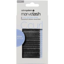 Salon System Marvelash C Curl Lashes 0.20 Volume 9,11,13,15mm (Ellipse)
