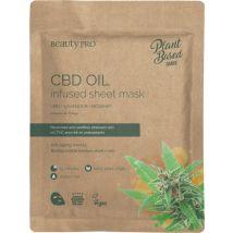 Beauty Pro CBD Oil Infused Sheet Mask
