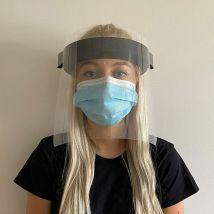 Face Visor with Black Headband
