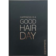 Happiness Is A Good Hair Day Appointment Book, 3 Column
