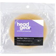 Head Gear Bun Ring, Blonde 14cm