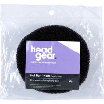 Head Gear Bun Ring, Black 14cm