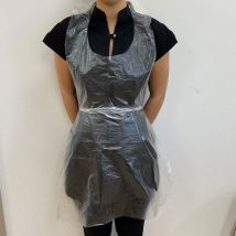 Disposable Aprons, Clear (100)