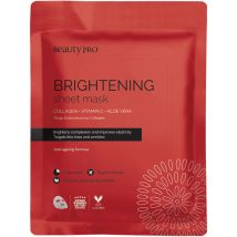 Beauty Pro Collagen Infused Face Mask, Brightening
