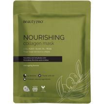 Beauty Pro Collagen Infused Face Mask, Nourishing