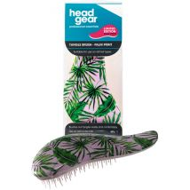 Head Gear Tangle-Gear Brush, Palm Print
