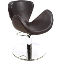 Gamma Store Rikka Anniversary Styling Chair with Roto Base, Black