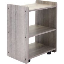 REM Spa Trolley, Rustic Oak