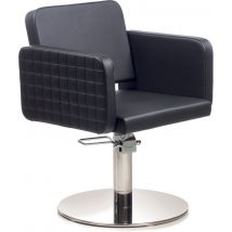 Gamma Store Olma CPT Styling Chair with Roto Base, Black