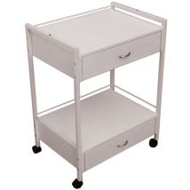 Hara Service Trolley, White