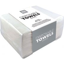 A+F Pro Disposable Towels, White (50)