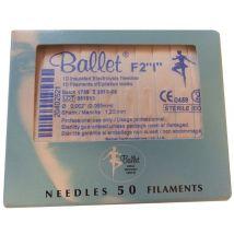 Ballet Insulated Electrolysis Needles (50)