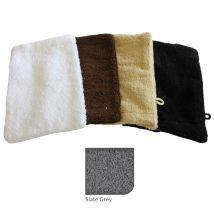 BC Softwear Comfy Towelling Mitt, Slate Grey