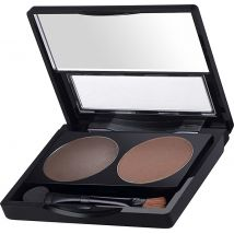Brow FX Brow Powder and Wax Duo Compact, Medium Brown