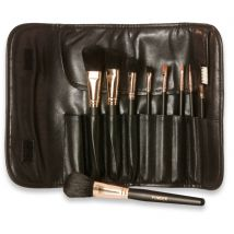 Deluxe Professional 9 Piece Cosmetic Brush Set