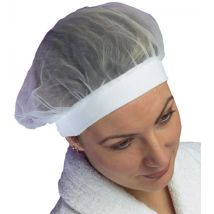 Net Crown Headband, White