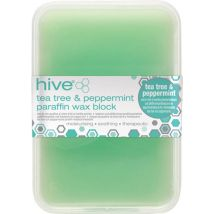 Hive Paraffin Wax Block, Tea Tree & Peppermint 450g
